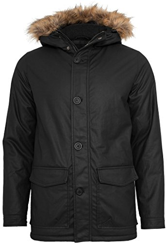 TB896 Coated Nylon Parka Winter Jacke Herren Kapuze - 3