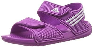 adidas Performance Akwah 9, Unisex-Kinder Knöchelriemchen Sandalen, Pink (Flash Pink S15/Ftwr White/Flash Pink S15), 29 EU (11 Kinder UK)