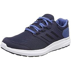 adidas Galaxy 4 m, Zapatillas de Entrenamiento para Hombre, Azul Collegiate Navy/Ash Blue 0, 43 1/3 EU