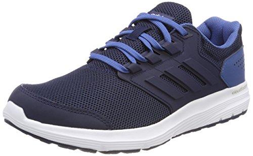 Adidas Galaxy 4 M, Zapatillas de Running para Hombre, Azul (Collegiate Navy/Collegiate Navy/Ash Blue S18 001), 43 1/3 EU