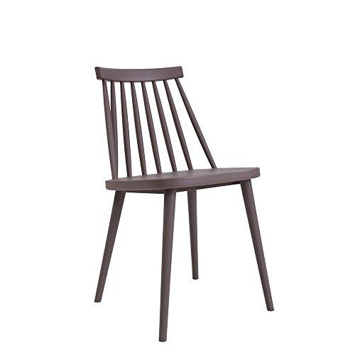 LJHA Tabouret pliable chaise à manger chaise bureau pour discuter des chaises en tissu occasionnels chaise à la maison 4color en option 78 * 50 cm chaise patchwork (Couleur : C)