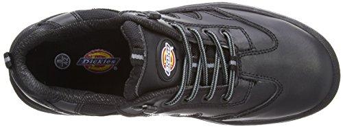 Dickies FA13335 BK 8 Stockton Chaussures haute sécurité S1-P Taille 42 Noir Noir (black)