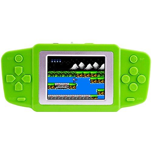 Retro console di gioco handheld game console precaricato 268 classico vecchia scuola games 2.5