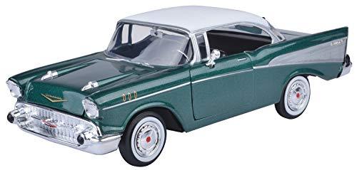 Bel Air Mini (Chevrolet Bel Air 1957 hellrot weiß 1:24 MotorMax)