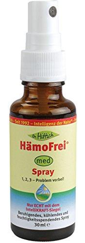 HämoFrei® Spray - 30 ml - Statt Hämorrhoiden-Salbe für perfekte Pflege und Hygiene - Von Dr. Hittich