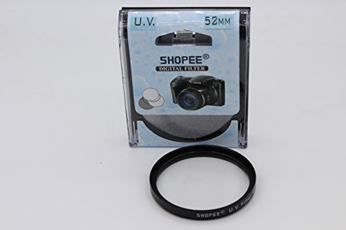 SHOPEE BRANDED 52MM SAFTEY UV LENS FILTER FOR NIKON D3100 D3200 D5000 D5100 D3000 D3300 18-55MM AF-S , 55-200mm , 50mm f/1.8D 52MM LENS Thread  available at amazon for Rs.175