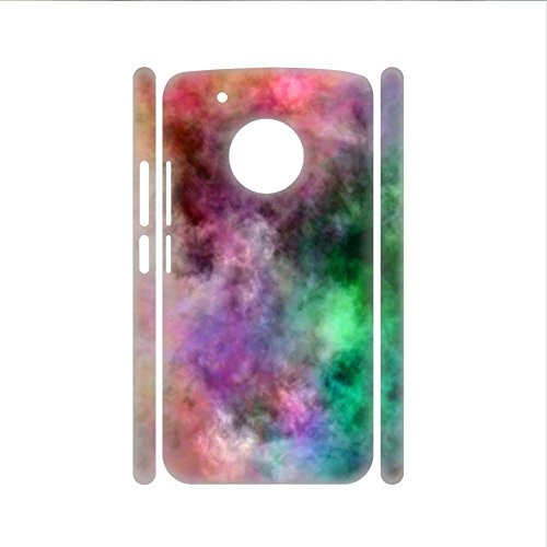 Walt Discover Shop Print with Tie Dye for G5Plus Moto for Guy Plastic Slim Cases (Us-kit G5)