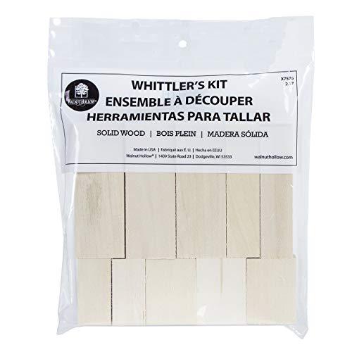 Walnut Hollow Basswood Whittler's Kit 10pc-