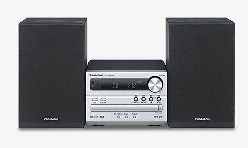 Panasonic SC-PM250EC-S - Microcadena de 20 W (2 x 10 W, FM, CD-R, CD-RW, MP3), plateado