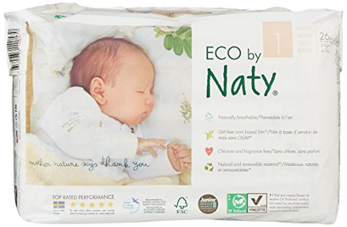 Nappies Size 1 Naty by Nature (104 pc.)