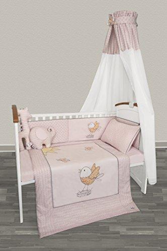 Belily Baby Bettset : Himmel, Nestchen und Bettwäsche (Lilly)