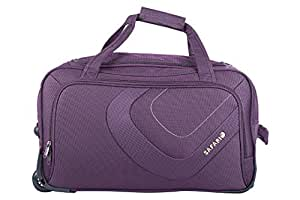 Safari Trac Fabric 66 cms Purple Softsided (TRAC 65 Rolling Duffle ... bf2a64797a2fc