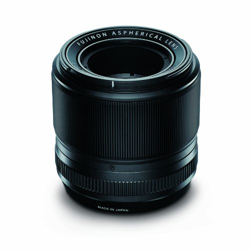 Fujifilm Fujinon XF60mmF2.4 R Macro - Objetivo para Fujifilm X (distancia focal fija 60mm, apertura f/2.4-22, zoom óptico 1x,macro, diámetro: 52mm) color negro