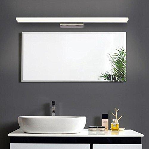 BiuTeFang 16W LED Spiegelleuchten Schranklampe AC85-265V Moderne Wasserdicht IP44 Badbeleuchtung Wandleuchte Kaltweiß 120CM