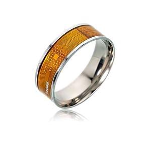 JXFS NFC Smart Ring, multifunktional, wasserfest, intelligenter Ring für Damen und Herren, tragbare Finger Digital Ring Smart Doorbell für Android und Windows Phones mit NFC Funktion