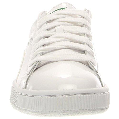 Puma Basket opaco e lucentezza White