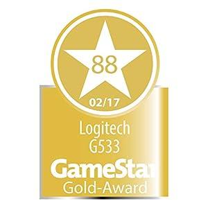 Logitech G533 Wireless Gaming-Headset, 7.1 Surround