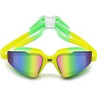 Bobury Womens Big rotonda obiettivo chiaro senza telaio di protezione UV400 Occhiali da sole giPkgErVW
