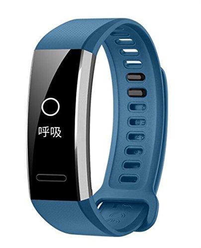 Igemy Silikon Ersatzband für Huawei Band 2/Band 2 Pro Smart Watch (Blau) (Michael Kors Swarovski Uhr)