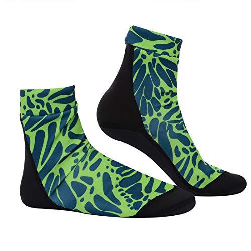 Shujin Unisex Herren Damen Ultra Stretch Neoprensocken Rutschfest 3.5mm Verdickung Tauchen Surfen Yoga Socken Sandsocken