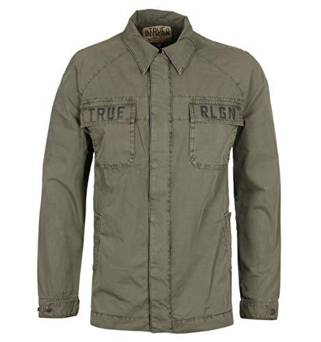 True Religion Khaki Field Jacket - SMALL