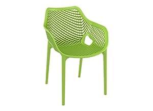 Chaise de jardin design AIR XL Vert