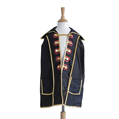 Cross Play Kostüm - Liontouch 18103LT Captain Cross Piraten Umhang | Teil von Kostüm mit Augenklappe und Zubehör