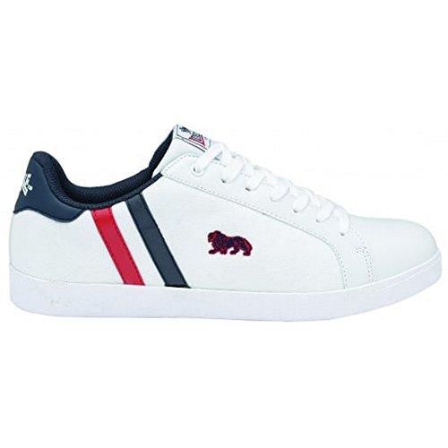 Lonsdale Coburn PU Uomo Sneaker White/Blue