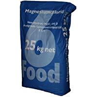 Cloruro de magnesio 25 kg Food mgcl2 E511 Magnesio