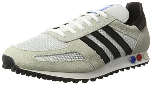 adidas Herren LA Trainer OG Sneaker, Beige (Vintage White/Core Black/Clear Brown), 44 2/3 EU (Beige Trainer)