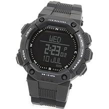 [LAD WEATHER] GPS reloj de running Monitor de frecuencia cardíaca altímetro/odómetro/brújula Digital correr/caminar contador de calorías deportivo reloj
