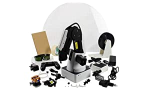 DOBOT Magician Educational Programming Robot, 4-axis Robot Arm with 3D Printer, Laser Engraver, Pen Holder, Suction Cap, Gripper Heads for K12 or STEAM Education - Educational Version
