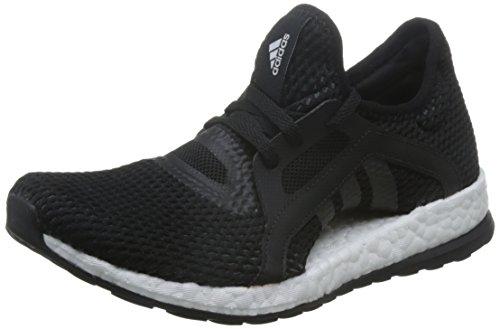 adidas Damen Pureboost X Laufschuhe, Black Negbas/Grpudg, 37 1/3 EU