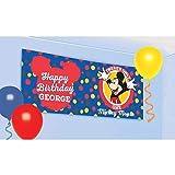 Amscan Mickey Mouse Fiesta Personalizado Gigante Pancarta