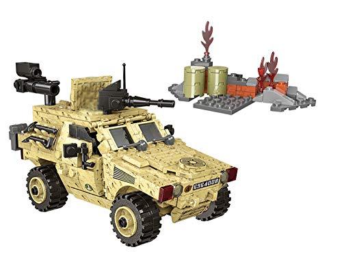 Humvee Kampffahrzeug inkl. 2 US Army Soldaten Minifiguren, 451 Teile
