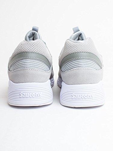 Saucony Uomo Grigio Grid 8500 HT Sneaker Grey