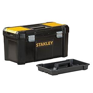 STANLEY STST1-75515 – Caja de herramientas de plastico con cierre metálico, 18 x 13 x 32.5 cm