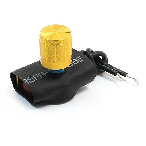SODIAL(R) Blau Gold Ton Tischleuchte ganze Palette Verdunkelungsschalter Drehschalter 2 Weise (Pole-licht-schalter)