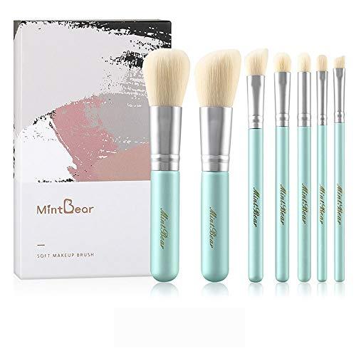 AA-SS-Makeup Brush Maquillage Pinceaux Kits de Set de Pinceau Maquillage Essential Essential Professional avec Pochette de Voyage