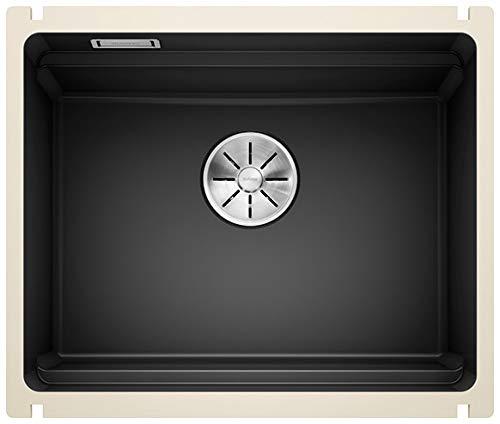 Blanco 525155 ETAGON 500-U Küchenspüle, schwarz, 500 mm breiter Unterschrank