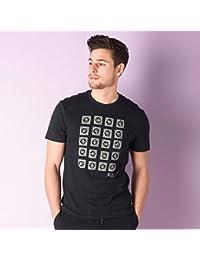 Original Penguin Mens Mens Stamp Petes T-Shirt in Black - M