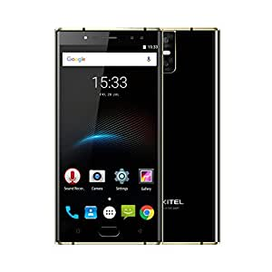 "OUKITEL K3 Smartphone 4G Android 7.0 (MTK6750T Octa Core 1.5GHz, 5.5"" FHD Schermo, 4GB RAM 64GB ROM, 16MP+2MP+16MP+2MP Camera, Fingerprint ID, Dual SIM, 6000mAh Batteria, WIFI, OTG, OTA, Hotkont, Carica rapida) Nero"