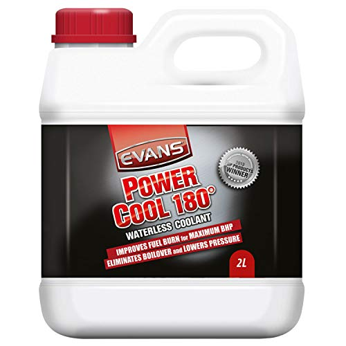 Coolant for engines Power Cool 180 ° of Evans, for racing cars and high performance, 2 liters