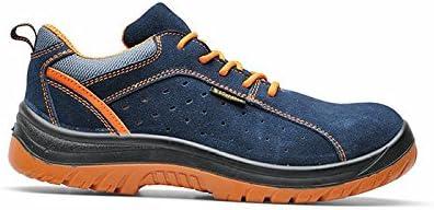 Zapatos de trabajo hombre bajas Suede (47)