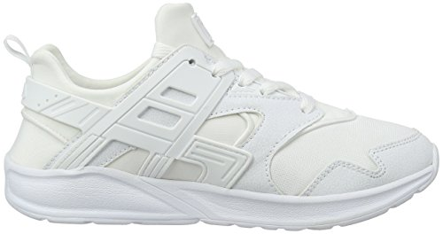 Fila Fleetwood Low Wmn, Sneakers basses femme Weiß (Bright White/Bright White)