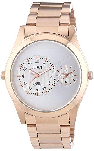 Just Watches Orologio Analogico Quarzo Uomo con Cinturino in Acciaio Inox 48-S10877-SL-RGD