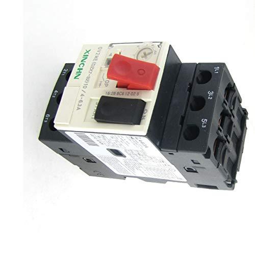 Aexit 690V 4-6.3A Disyuntor de circuito (model: H4159IIVI-3803IM) magnético térmico 3P