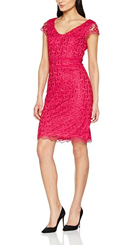 s.Oliver BLACK LABEL Damen Partykleid 01899824602, Rosa (Magic Pink 4468), 38
