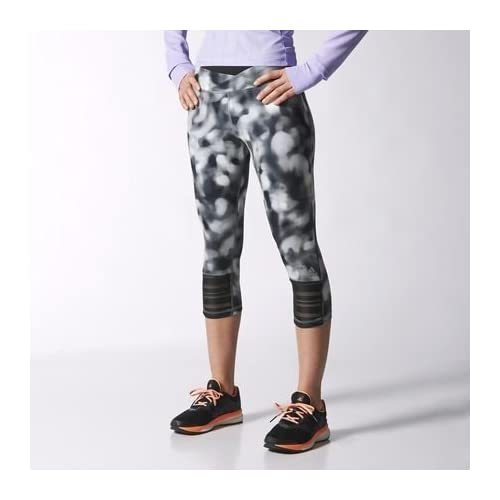 41TVhHX99tL. SS500  - adidas - Sweatpants & Tights - Supernova Three-Quarter Tights - Black - XS