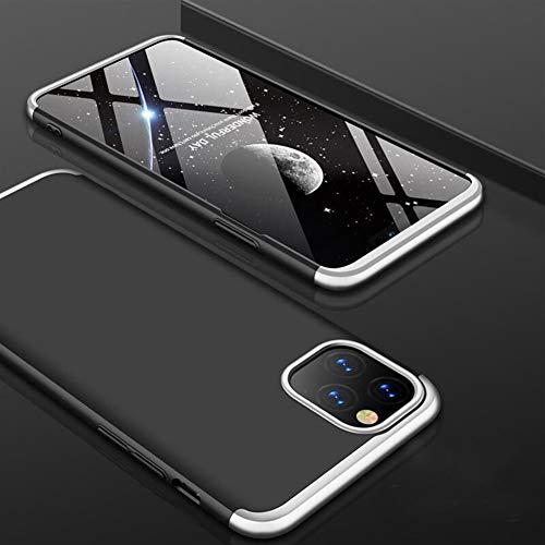 ZIXIXI for iPhone 11 Pro Max 11 Case Slim Rüstung 360 Voller Schutz Harter Matt PC-Abdeckung for iPhone 11 2019 Phone Cases Matte Funda (Color : SBS, Material : for iPhone 11 Pro)